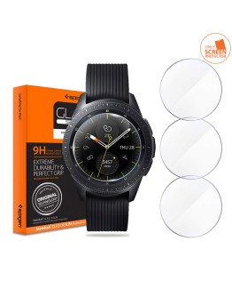 Tempered Glass Screen Protector Designed for Samsung Galaxy Watch 42mm / Gear Sport/Gear S2 (3 Pack)