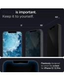 iPhone 12 / 12 Pro GLAS.tR Slim HD Privacy