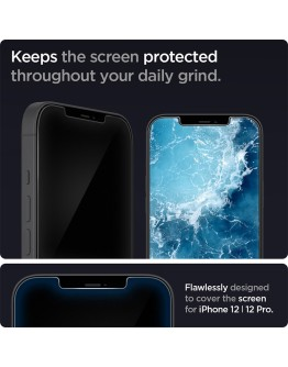 iPhone 12 / 12 Pro Screen Protector GLAS.tR Slim HD