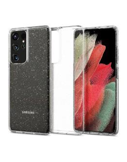 Galaxy S21 Ultra 5G Case Liquid Crystal Glitter