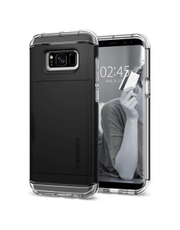 Galaxy S8 Plus Case Crystal Wallet
