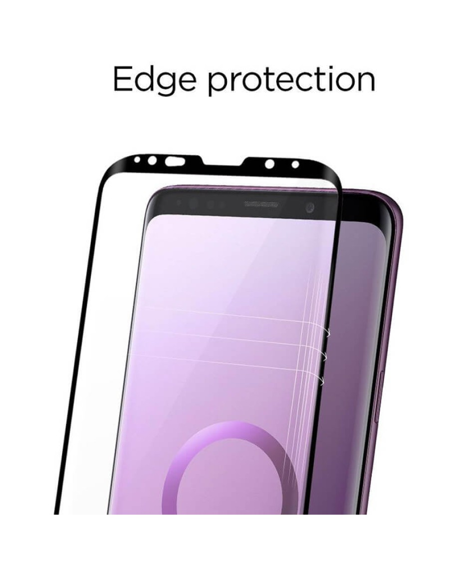 best website eb69d 40871 Galaxy S9 PLUS Glas.tR Curved HD Tempered Glass Screen Protector